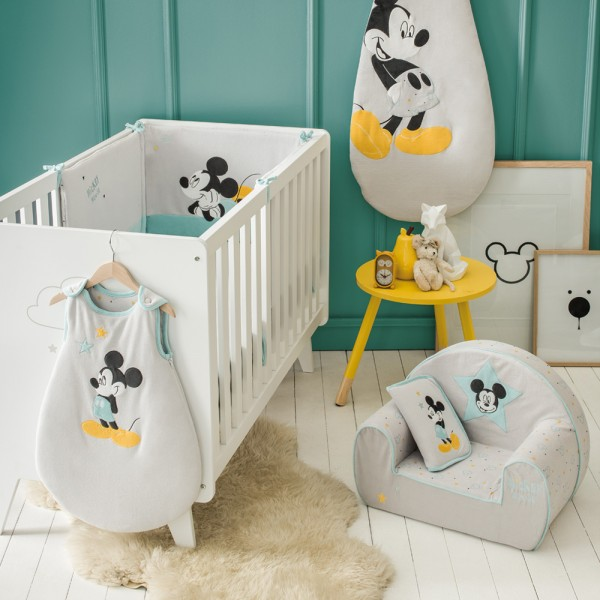 fauteuil chambre b b mickey my story de babycalin. Black Bedroom Furniture Sets. Home Design Ideas