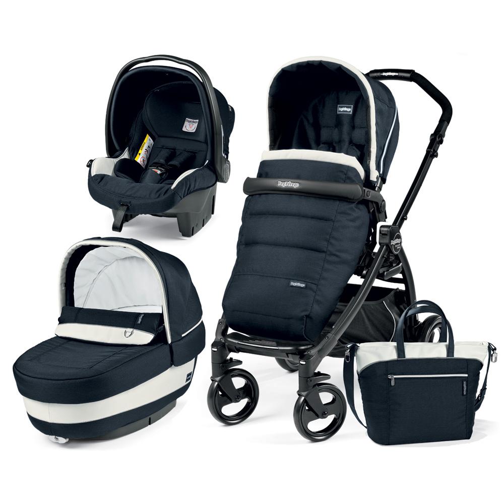 poussette combin trio book plus pop up completo luxe blue. Black Bedroom Furniture Sets. Home Design Ideas