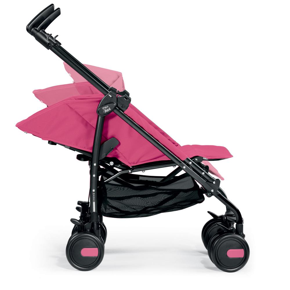 poussette canne pliko mini classico mod pink de peg perego. Black Bedroom Furniture Sets. Home Design Ideas