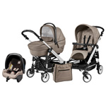 Pack poussette trio easy drive sportivo geo pas cher