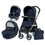 Pack poussette trio book s jet pop up sportivo bloom navy