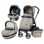 Pack poussette trio book plus s jet pop up completo luxe beige
