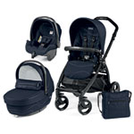 Pack poussette trio book plus pop up sportivo bloom navy