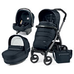 Pack poussette trio book s jet pop up completo luxe blue night