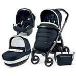 Pack poussette trio book s jet pop up completo luxe blue