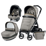 Pack poussette trio book s jet pop up completo luxe grey