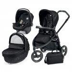 Pack poussette trio book scout 3 roues pop up sportivo géo black