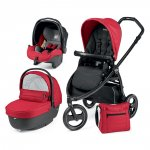 Pack poussette trio 3 roues scout pop up sportivo bloom red