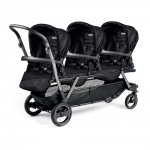 Poussette triple piroet pop up sportivo géo black