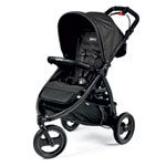 Poussette 3 roues book cross completo bloom black