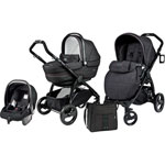Poussette trio book plus completo denim black pas cher