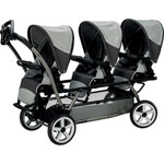 Poussette triple pop up atmosphere de Peg perego
