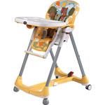 Chaise haute bébé prima pappa diner theo giallo pas cher