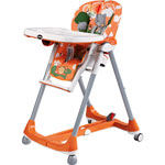 Chaise haute bébé prima pappa diner theo arancio pas cher