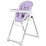 Chaise haute bébé prima pappa zero-3 baby dot lilac pas cher