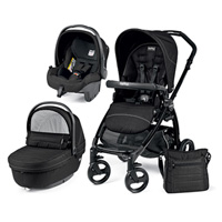 Pack poussette trio book plus sportivo mod black