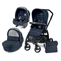 Poussette combiné trio book plus sportivo hamac pop up mod navy