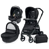 Poussette combiné trio book plus pop up sportivo geo black