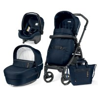 Pack poussette trio book 51 sl black gold/rock navy
