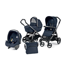 Poussette combiné trio book s jet sportivo hamac pop up mod navy