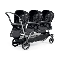 Poussette triple piroet pop up sportivo class black