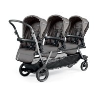 Poussette triple piroet pop up sportivo class grey
