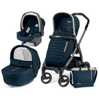 Pack poussette trio book plus s jet pop up completo breeze blue