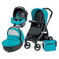 Poussette combiné trio book 51 s jet pop up sportivo bloom scuba