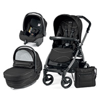 Pack poussette trio book 51 s jet pop up sportivo bloom black