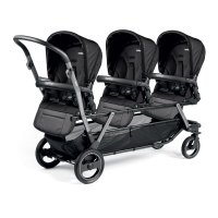 Poussette triple piroet pop up completo breeze noir
