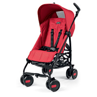Poussette canne pliko mini classico mod red