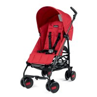 Poussette canne pliko mini geo red