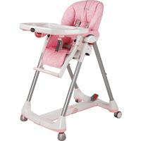 Chaise haute bébé prima pappa diner savana rosa
