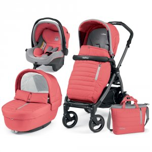 Poussette combiné trio book 51 s jet pop up completo breeze corail