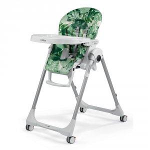 Chaise haute bébé follow me prima pappa foliage