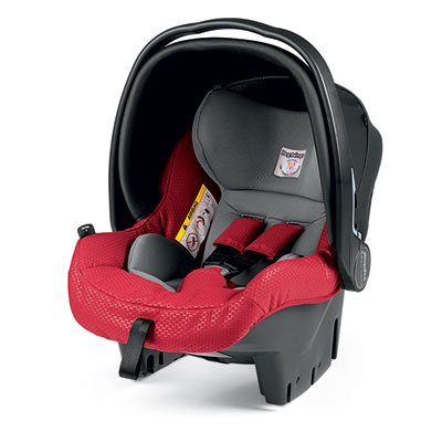 Coque bébé groupe 0 + primo viaggio sl bloom red Peg perego