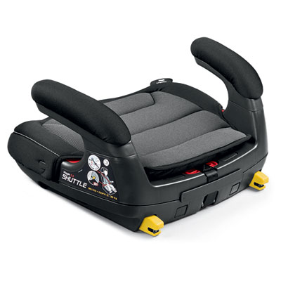 Rehausseur auto viaggio shuttle crystal black - groupe 2/3 Peg perego