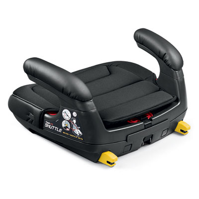 Rehausseur auto viaggio shuttle licorice - groupe 2/3 Peg perego