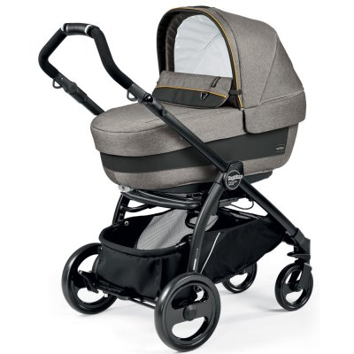 Pack poussette trio book plus pop up completo luxe grey Peg perego
