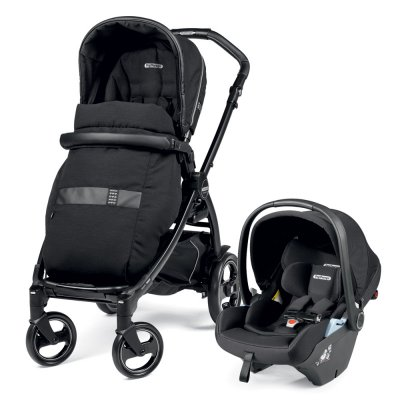Pack poussette duo book 51 lounge rock black Peg perego