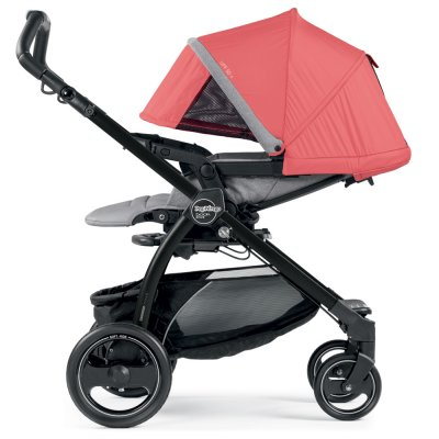 Pack poussette trio book plus pop up completo breeze corail Peg perego