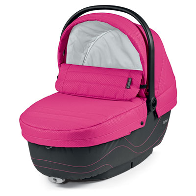 Pack poussette trio book s jet hamac pop up bloom pink Peg perego