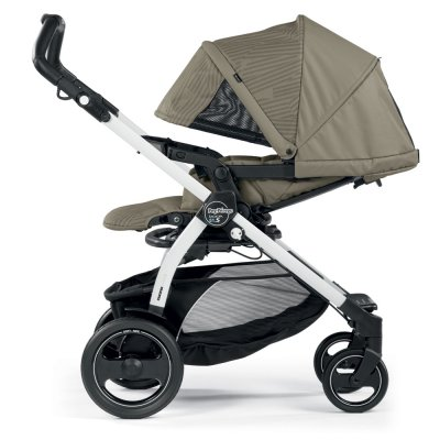 Pack poussette trio book 51 s black/ white pop up sportivo géo beige Peg perego