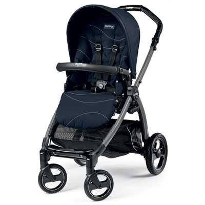 Pack poussette trio book s jet pop up sportivo bloom navy Peg perego
