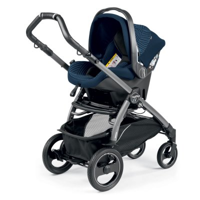 Pack poussette trio book 51 s jet pop up sportivo géo navy Peg perego