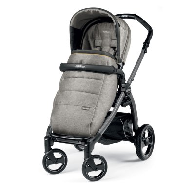 Pack poussette trio book plus s jet pop up completo luxe grey Peg perego