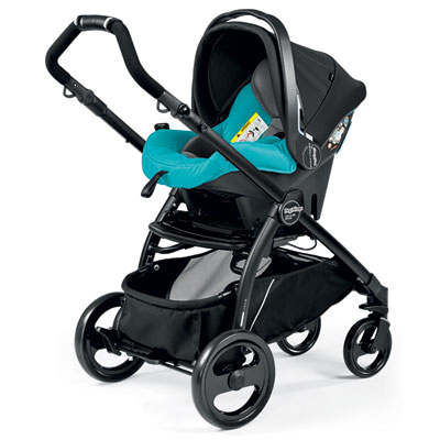 Pack poussette trio book plus pop up sportivo bloom scuba Peg perego