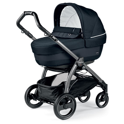 Pack poussette trio book s jet pop up completo luxe blue night Peg perego