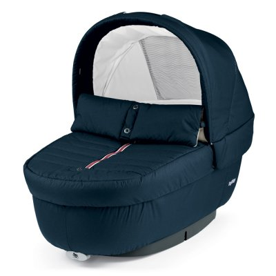 Pack poussette trio book scout 3 roues pop up completo breeze blue Peg perego