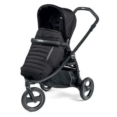 Pack poussette trio book scout 3 roues pop up completo breeze noir Peg perego